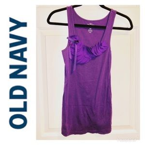 Old Navy tank top with decorative detail